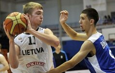 Lietuvos 18-mečių vaikinų rinktinė Estijoje laimėjo visus tris susitikimus