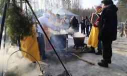 Žiemos šventė Mindūnuose