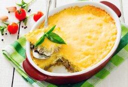 Gardusis vištienos ir sūrio apkepas