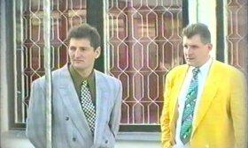 Henrikas Daktaras (kairėje)