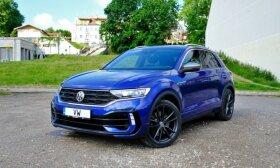 """""""Volkswagen T-Roc R"""" testas: nepraktiškas pasirinkimas"""
