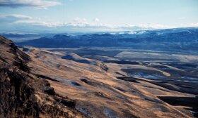 Geologiniai dariniai rytinėje Vašingtono valstijos (JAV) dalyje / NOAA nuotr.