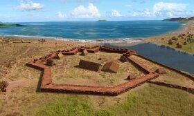 Rusijos Elžbietos forto valstybinis istorinis parkas, Kauai sala, Havajai, JAV