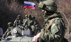 Rusijos kariai, asociatyvi nuotr.