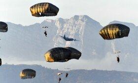 NATO karių pratybos Italijoje