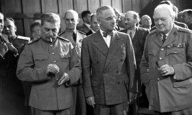 J. Stalinas, H. Trumanas ir W. Churchillis Potsdame
