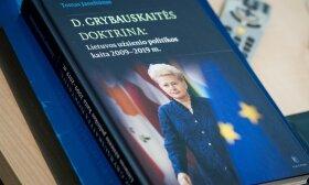 """Tomo Janeliūno knygos """"D. Grybauskaitės doktrina"""" pristatymas"""