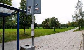 Vilniuje perkeliama Lazdynuose esanti viešojo transporto stotelė