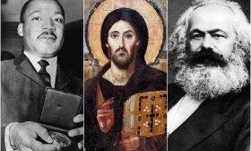 M. L. Kingas, Jėzus Kristus ir Marksas