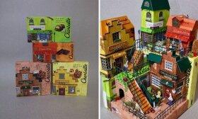 Japonų menininkas prekių įpakavimus paverčia įspūdingais meno kūriniais