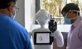 Matematikė: pandemija parodė, kad robotai gali atimti darbo vietas