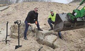 Pajūryje bus restauruojamas istorinis valstybės sienos su Latvija ženklas