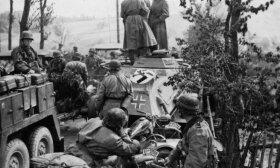 Totenkopf divizija kariuone veiksmuose Sovietų Sąjungoje