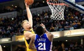 Sabonio dėjimas per Embiidą sulaukė dar didesnio įvertinimo – puikuojasi NBA savaitės gražiausių epizodų viršūnėje