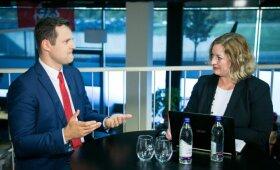 Socialdemokratų pirmininkas G. Paluckas skilimo partijoje neįžvelgia