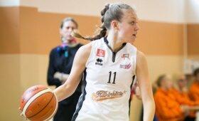 """Lietuvos moterų krepšinio lygos rungtynės: """"Kibirkštis"""" - """"Hoptrans-Sirenos"""""""