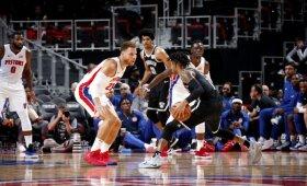 """NBA naktis: Griffino sugrįžimo sulaukę """"Pistons"""" neprilygo Russello vedamiems """"Nets"""""""