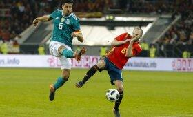 Draugiškos rungtynės, Vokietija – Ispanija