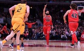 """NBA naktis: mistinė Mirotičiaus magija ir Wallo sugrąžintas """"Wizards"""" pergalės skonis"""