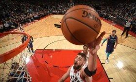 """NBA savaitė: prigesęs Sabonis, stabilus Valančiūnas ir katastrofiški """"Lakers"""" rezultatai"""