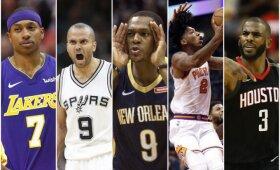 NBA laisvųjų agentų rinkos apžvalga: pajėgiausių įžaidėjų dešimtukas