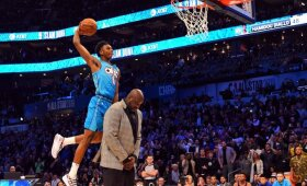 Shaqą peršokęs Diallo laimėjo NBA dėjimų konkursą