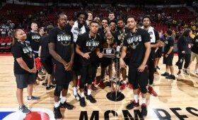 """NBA Vasaros lygos turnyrą laimėjo """"Blazers"""" ekipa"""