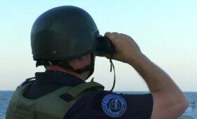 Juodojoje jūroje – jungtinės NATO ir Ukrainos karinės pratybos
