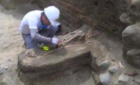 Peru rasti senovėje paaukotų vaikų palaikai