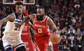 """NBA naktis: Hardeno sugrįžimas, suklupusi """"Celtics"""" ir vos sveiką kailį išnešusi """"Cavaliers"""" ekipa"""