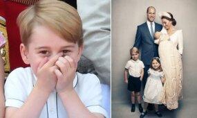 Princas George'as švenčia 5 metų gimtadienį: kokią mielą pravardę mažylis turi namuose?