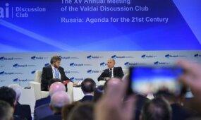 Putino žodžiai sukėlė audringą reakciją socialiniuose tinkluose
