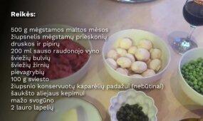Lietuviški kotletai su prancūzišku akcentu