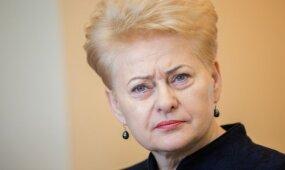 Grybauskaitė: Lietuva svarsto išsiųsti iš šalies rusų šnipus po diplomatine priedanga