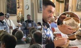 Emilio Vėlyvio provokaciją bažnyčioje įvertino ir advokatas: gerai, kad pradėtas ikiteisminis tyrimas