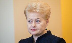 Atviras Grybauskaitės interviu: esame tiesioginių puolimų objektas