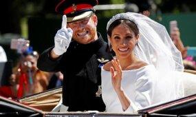 Istorinė akimirka: susituokė princas Harry ir Meghan Markle
