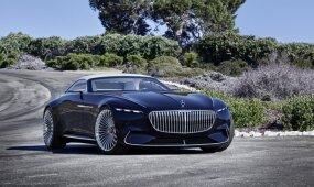 """Tikroji elegancija: grožio konkurse pristatytas įspūdingas koncepcinis """"Mercedes-Maybach"""""""