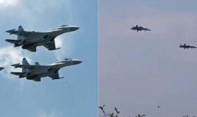 Sirijoje – naujausi rusų naikintuvai
