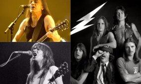 Mirė legendinis AC/DC gitaristas Malcolmas Youngas