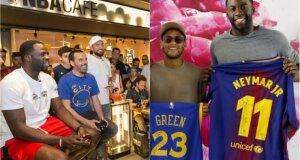 D. Greenas Europoje: tenisas Vimbldone, pažintis su Neymaru ir patarimai būsiems e-sporto atletams