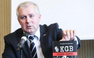 """Knygos """"KGB. Visiškai slaptai"""" pristatymas"""