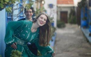 Sienas ir stereotipus griaunančią lietuvaitės meilę vainikavo karališkos vestuvės Maroke