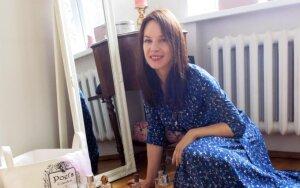 Stiliaus dosjė. Aktorė V. Bičkutė: ilga suknelė man – kaip moteriški treningai
