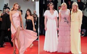 Venecijos kino festivalyje dominavo pastelinės spalvos