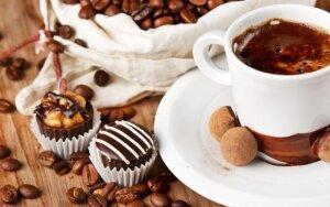 Kava su šokoladu – sveikata, narkotikas ar laimės hormonas?