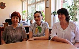 Z. Karimova, S. Čertkova, D. Morkūnienė (iš kairės į dešinę)