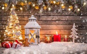 Kalėdos be eglutės – originalios šventinio dekoro alternatyvos