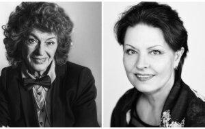 Ilgametės scenos draugės Regina Arbačiauskaitė ir Nijolė Sabulytė kviečia į kūrybos vakarą