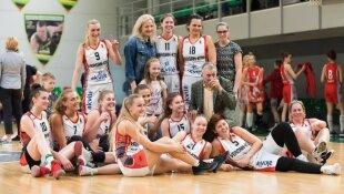 Akvilės moterų krepšinio lygos komanda iš Kauno.